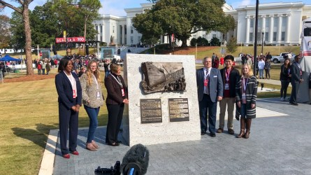 Alabama celebrates its 200th birthday on Saturday, Dec. 14, 2019, in Montgomery with a parade, festival and concert. The state also dedicated a new Bicentennial Park. (Michael Tomberlin / Alabama NewsCenter)