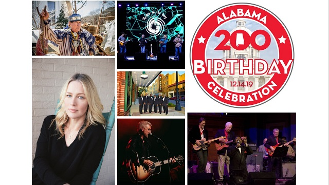 Alabama to officially mark its bicentennial with events this weekend