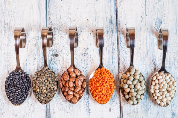Adding beans to your diet is a healthy, filling trick. (Getty Images)