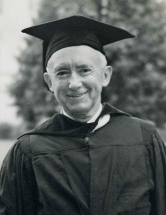 Thomas W. Martin receiving an honorary degree from the University of Alabama, 1943. (Alabama Power Company Archives)