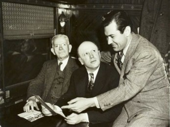 Former University of Alabama president George Denny (left) sits in a booth in a local restaurant in 1938 with then-president of the university Richard Foster and former Crimson Tide football player and later film star Johnny Mack Brown, a native of Dothan. (From Encyclopedia of Alabama, courtesy of W.S. Hoole Special Collections Library, The University of Alabama Libraries)