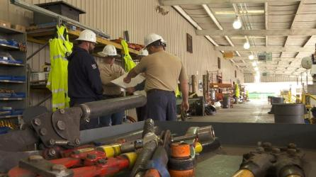 Alabama Power crews are ready to respond should storms cause outages. (Mark Jerald / Alabama NewsCenter)