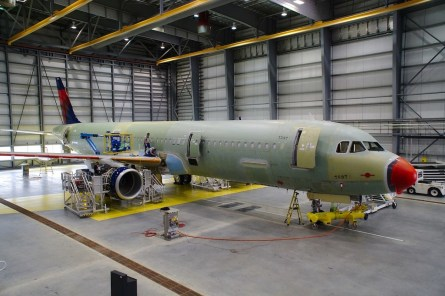 Airbus invested $600 million to open its first U.S. manufacturing facility at Alabama's Mobile Aeroplex. Additional growth at the plant has pushed the total investment past $1 billion. (Airbus)