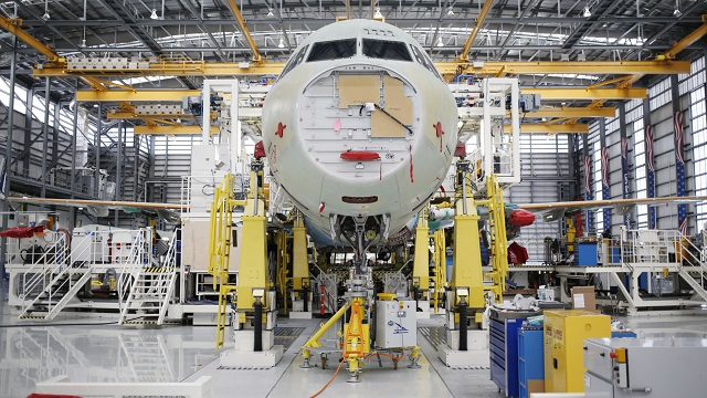 Airbus expanding in France to boost assembly of new A321 jets