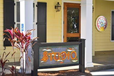 The Coastal Arts Center has many facets, including a glass studio. (Karim Shamsi-Basha/Alabama NewsCenter)
