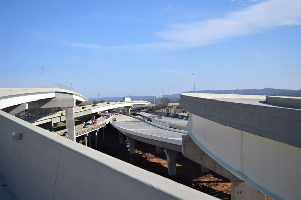 The new bridges and interstate are a confluence of great teamwork. (Donna Cope/Alabama NewsCenter)