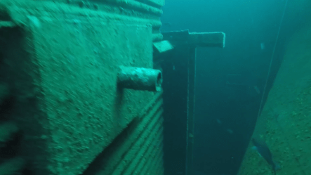 An old Alabama Power boiler is now an artificial reef at the bottom of the Gulf of Mexico. (contributed)