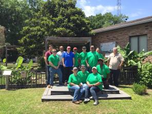 Volunteers from the Alabama Power Service Organization work twice a year to improve the facility. (contributed)