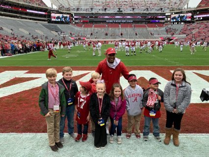 Special Spectators creates VIP all-access game-day experiences for seriously ill children and their families at sporting events across the U.S.. (contributed)