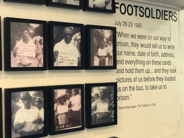 The Safe House Black History Museum occupies a shotgun house where Dr. Martin Luther King Jr. was sheltered in 1968 and two neighboring houses. It honors the foot soldiers who were so crucial to the civil rights movement. (Michael Tomberlin/Alabama NewsCenter)