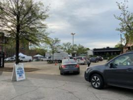 The Pepper Place Drive-Thru Farmers Market is enjoying success and is growing each week. (contributed)