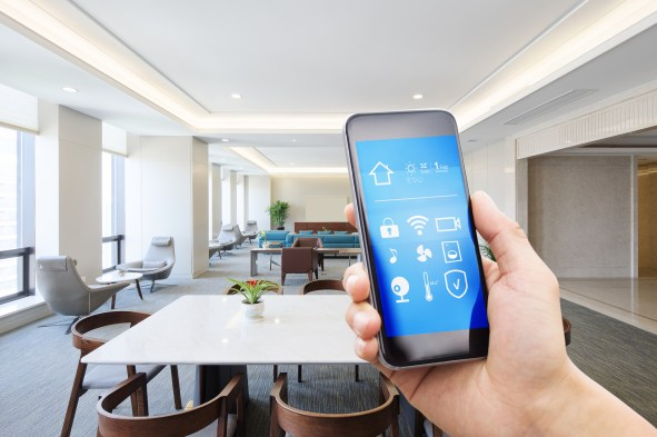 Air conditioning units can quickly run up costs inside a business, while turning air conditioning systems off can lead to humidity issues. Instead, raise the temperature setpoints to 85 degrees. (Getty Images)