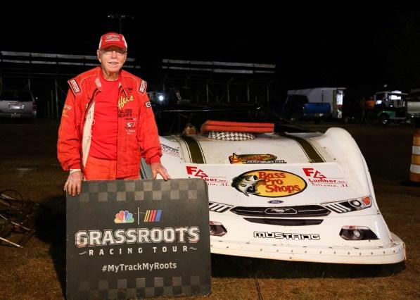 Red Farmer is still racing on short tracks like the Talladega Short Track. (Beth Ferguson)