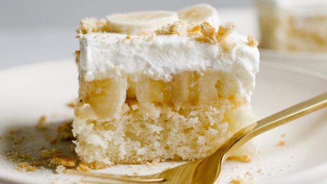 Recipe: Banana Cream Pie Cake