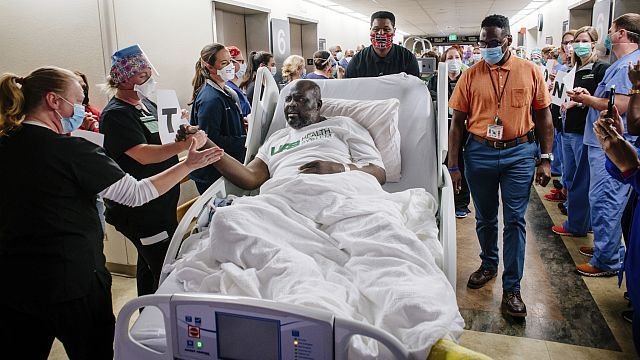 UAB police officer leaves hospital COVID-19 unit after 59 days