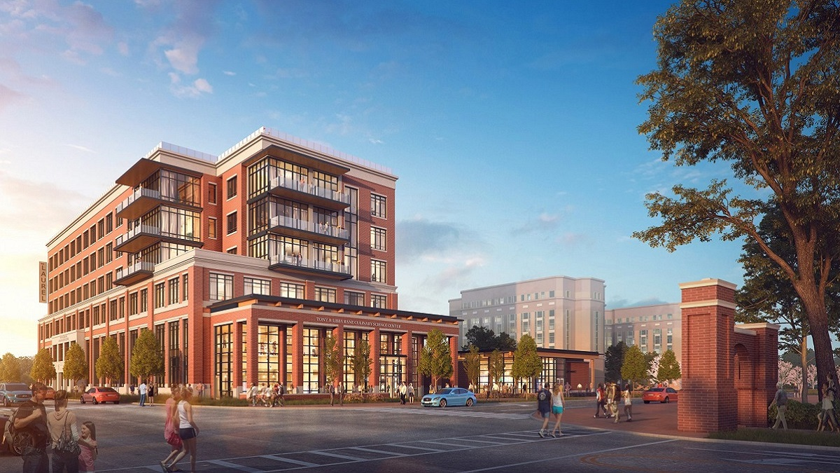 One-of-a-kind culinary science center rising on Auburn University campus
