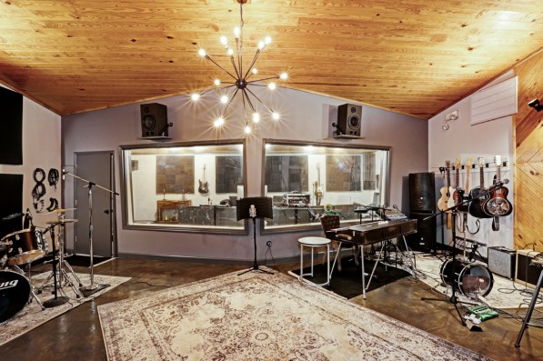 The Studio contains both short-term residential rental space and a working recording studio. (Courtesy of Whitney Dean)