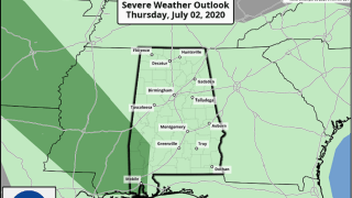 James Spann: Storms later today for Alabama, but fewer in number