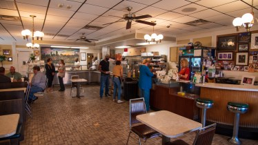 Ted's Restaurant has been a fixture on Birmingham's Southside for nearly 50 years, serving Southern classics and Greek favorites to generations of customers. (Dennis Washington / Alabama NewsCenter)
