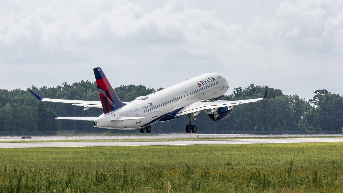 Airbus delivers first A220 made in Alabama to Delta Air Lines