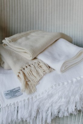 Red Land Cotton's All-American blankets are made from cotton grown on a family farm in north Alabama. (contributed)