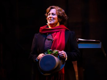 Audiences will be mesmerized as Greta Lambert takes on many roles in this heartwarming production. (Frank C. Williams)
