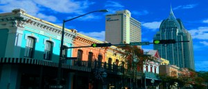 Dauphin St, Downtown Mobile