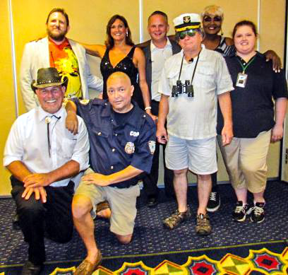 Mobile Mystery Dinners - Murder On The Carnivore Cruise Cast