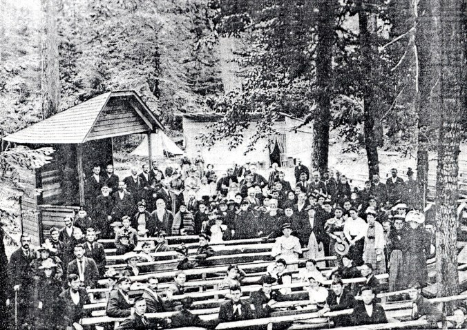 Large crowds once gathered at camp meetings in early Alabama – Alabama  Pioneers