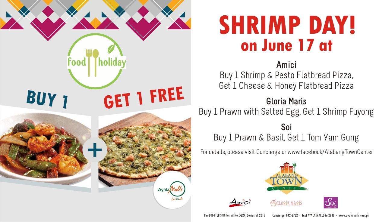 SHRIMP day fb offer