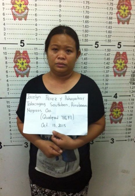 Woman who pretended to be a household helper