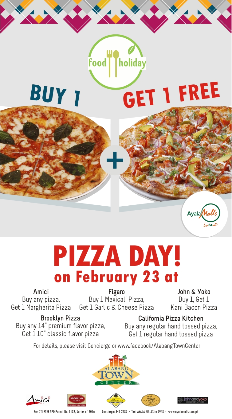 PIZZA day LED