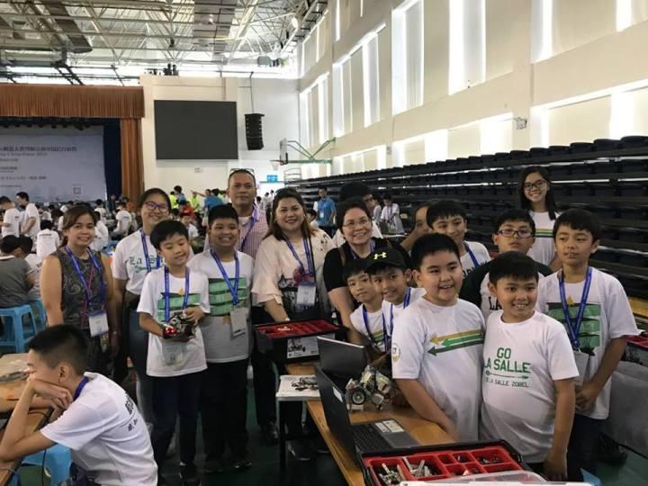 Ph Team Attends International Robot Olympiad China Open Alabang