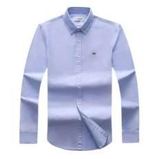 Lacoste Mens Shirt Sky Blue
