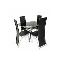 Generic Classic Dining Table With 4 Black
