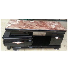 LED TV Stand with Drawer Brown