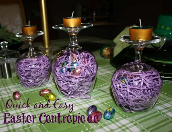 How to create an easter centerpiece