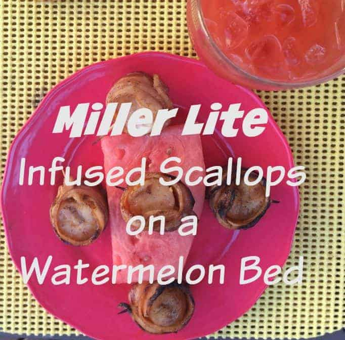 Miller Lite Infused Scallops