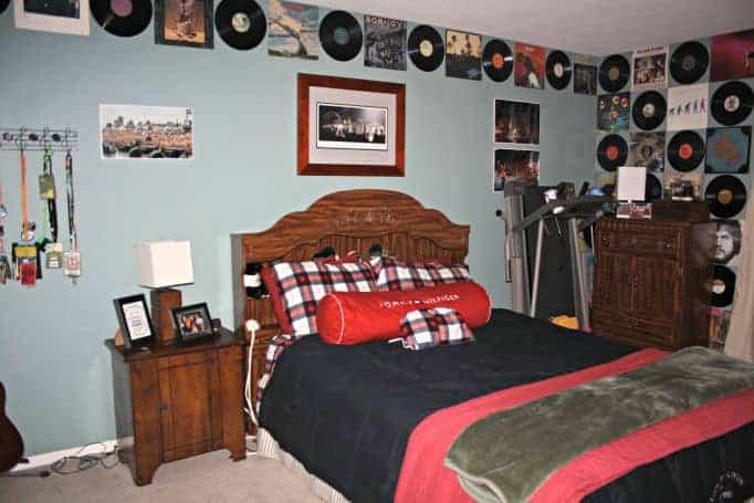 album room for a musician