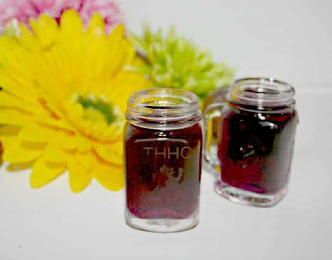 mason jar shooter glasses for The Honest Heart Collective