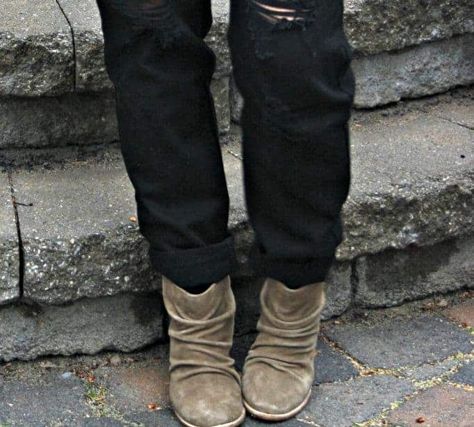 last call suede boots