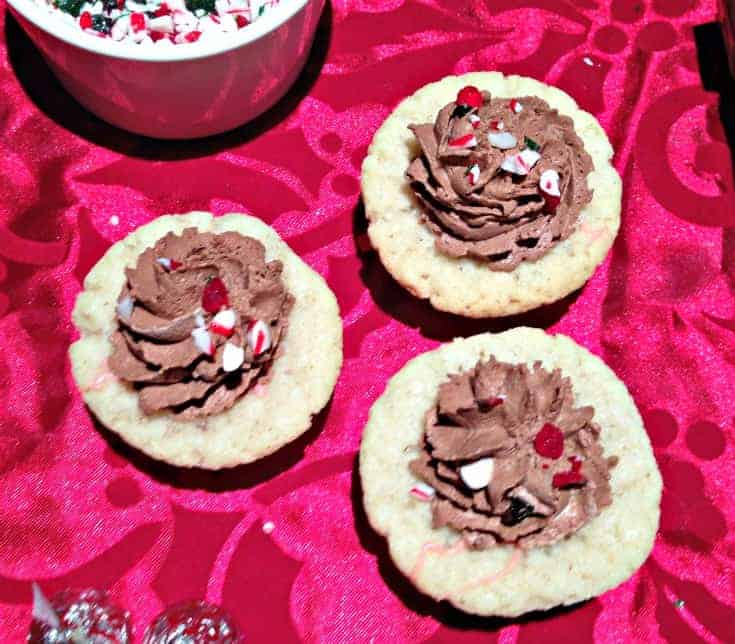 Candy Can Sugar Cookie Cups with Chocolate Mousse 1