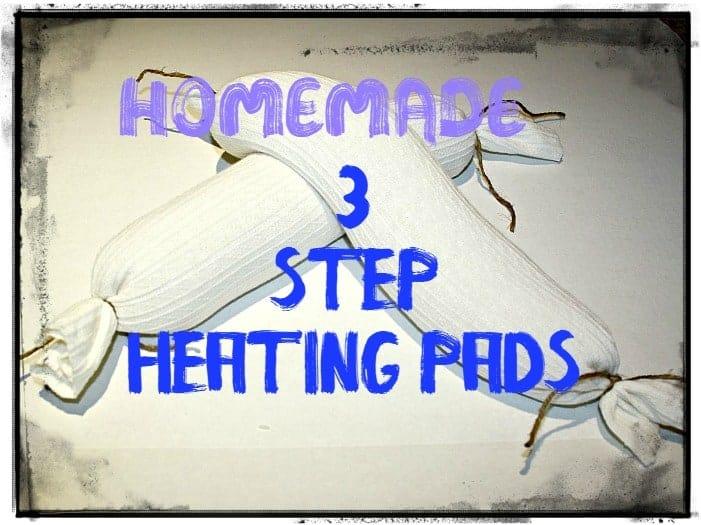 homemade rice heating bag