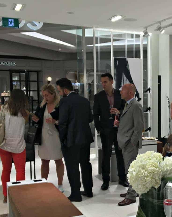 Grand Opening at ECCO Canada Rideau Center