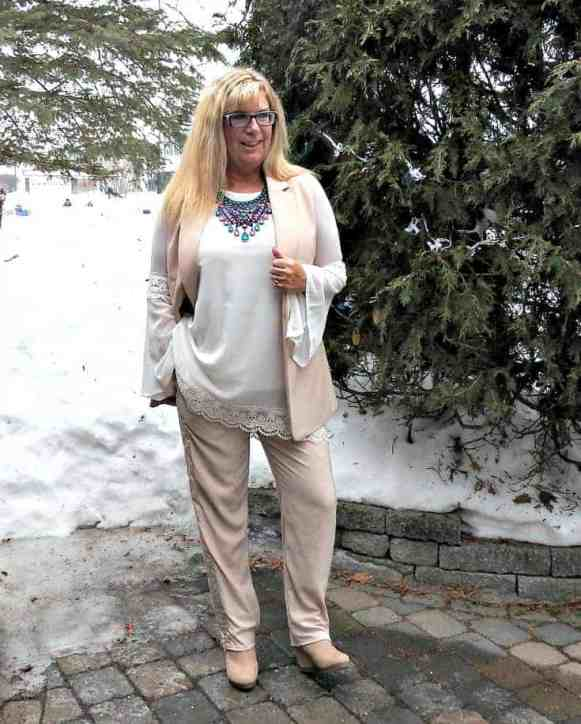 styling blush from head to toe