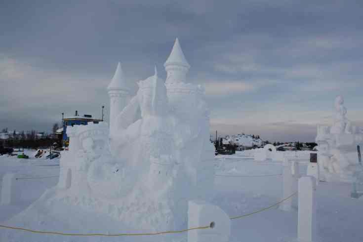 ice castle Yellowknife