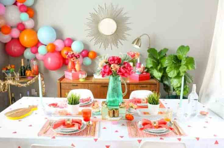 peachy party celebrations