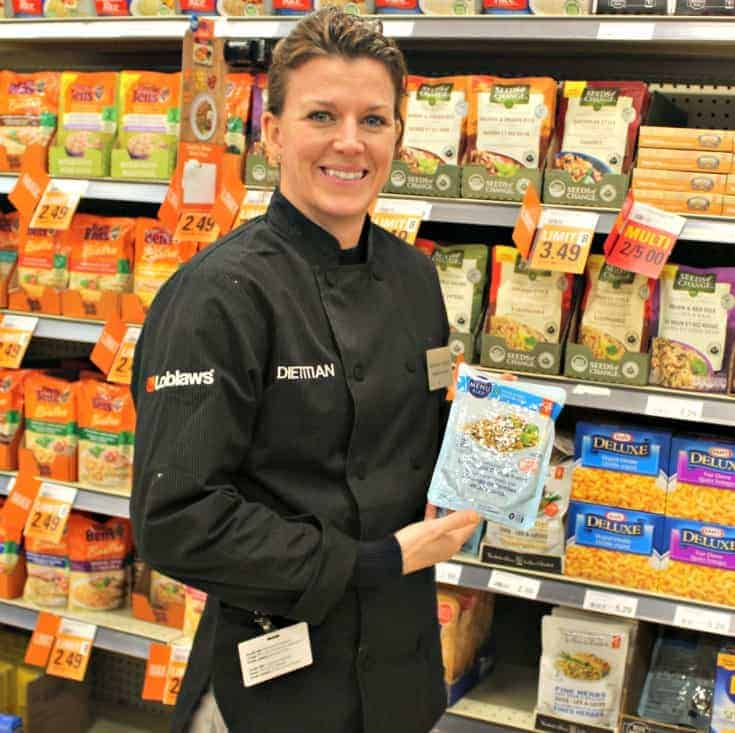 meeting with the Loblaws dietitian Margaret
