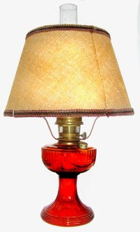 Aladdin model 23 short Lincoln drape lamps