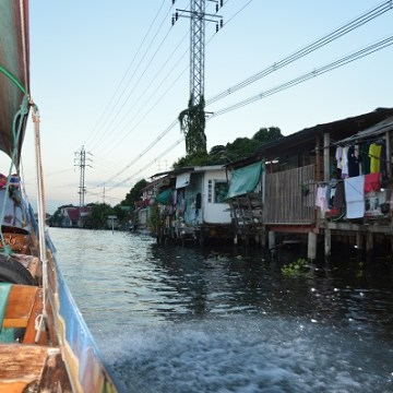 Art. 3 – Bangkok : Balade sur les khlong en long-tail boat